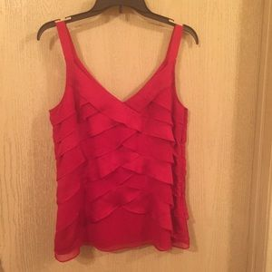 WHBM Red Blouse | Size Small | Red